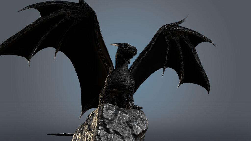 Black shadow dragon project
